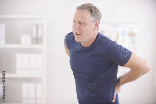 Fotografía  Man suffering from backache