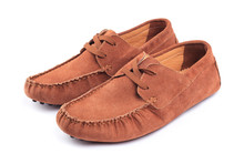 Pair Of Brown Male Moccasins O...