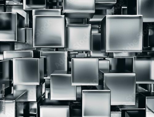abstrakcyjny-obraz-tla-metalowych-kostek