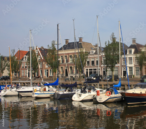 Recess Fitting North Sea canal in Harlingen