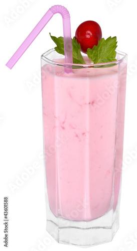 Foto op Plexiglas Milkshake fruit smoothie