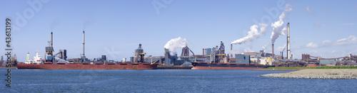 Fotografia, Obraz steel factory