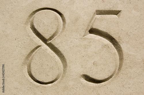 Fotografía  Number Eighty Five