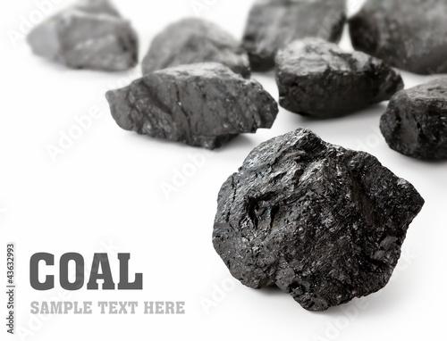 Fényképezés Coal Lumps