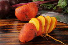 Fresh Golden And Red Beets