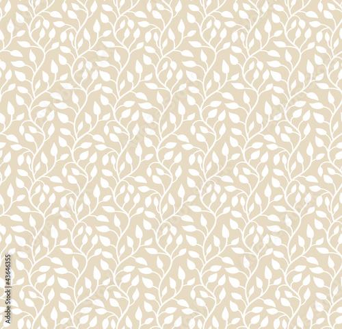 seamless-light-beige-leaf-pattern-vector-illustration