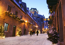Quebec City, Chateau Frontenac...