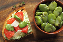 Sandwich  With Broad Bean