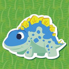 cute dinosaur sticker05