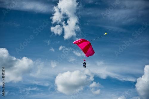 Carta da parati saut en parachute