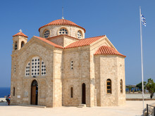 Church Of St. George Near Of Paphos, Cyprus