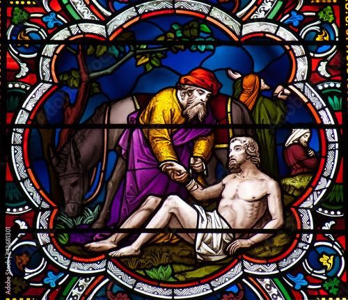 Fotografie, Obraz  The Good Samaritan