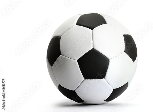football ball, isolated on white Tapéta, Fotótapéta