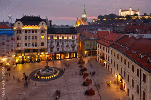 Photo  Bratislava old town