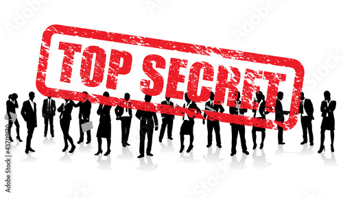 Photo  top secret business people