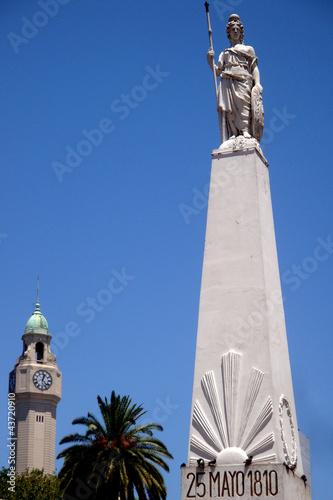Fotografia  Obelisk der Unabhängigkeit in Buenos Aires