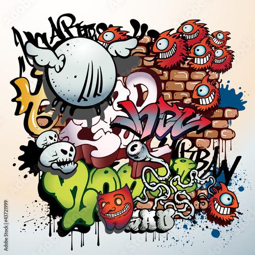 elementy-graffiti-miejskich-sztuki