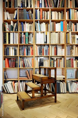 Poster Bibliotheque bibliothek