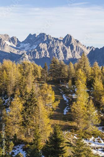 Fototapety, obrazy: Mountain view
