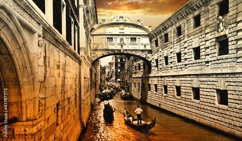 Venice, sunset