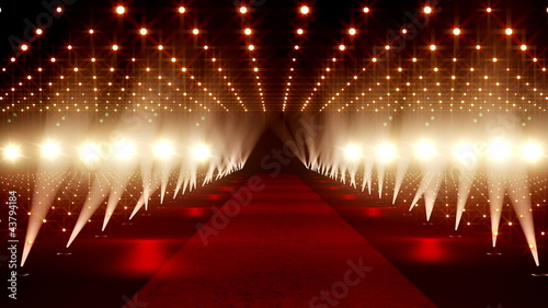 Photo  Red Carpet festival scene animation 21