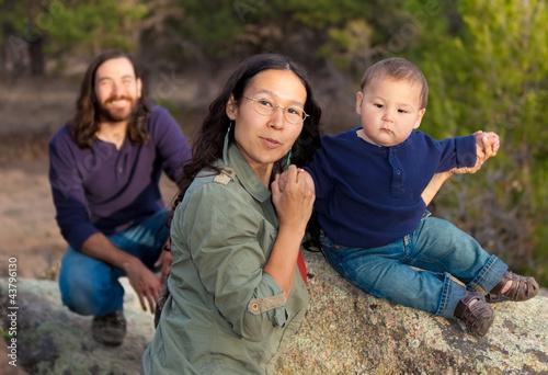 Fotografie, Obraz Family in nature