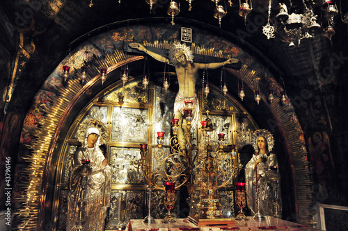 Travel Photos of Jerusalem  Israel - Church of the Holy Sepulchr Fototapet