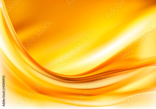 Gold elegant abstract background illustration
