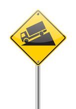 Steep Grade Sign