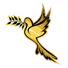 Golden Dove Of Peace