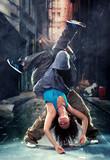 Passion dance couple. - 43832395