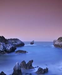 FototapetaBuelna beach, Asturias, Spain.