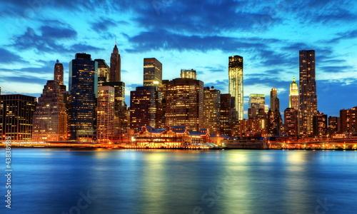 Skyline de Manhattan, New York.