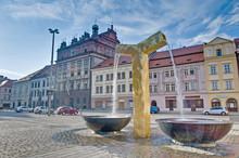 Pilsen Cityhall Building In Pilsen, Czech Republic