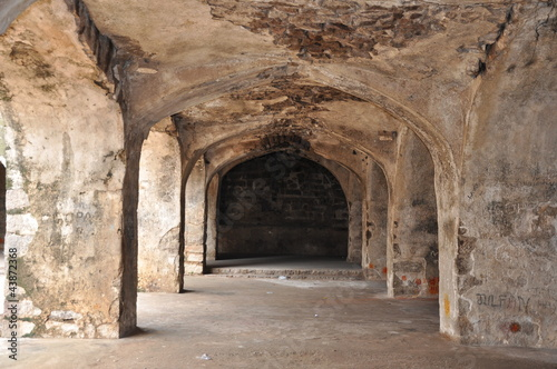 Photo  Golconda Fort in Hyderabad, India