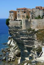 Corsica  A Town In Corsica, France