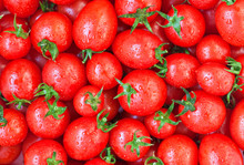 Healthy Food, Background. Red ...