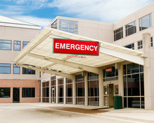 Entrance To Emergency Room At ...