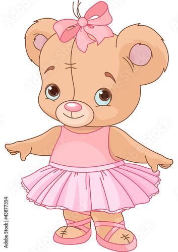 urocza-teddy-bear-ballerina