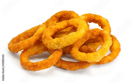 Fotografia, Obraz deep fried onion rings