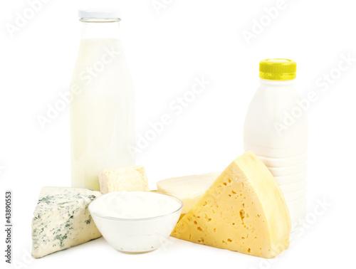 Poster Produit laitier Dairy
