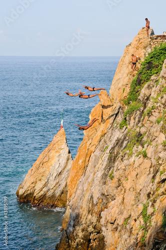 Fotografija  Acapulco cliffs divers