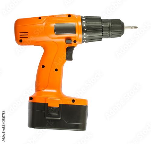 Fotografie, Obraz  Cordless drill