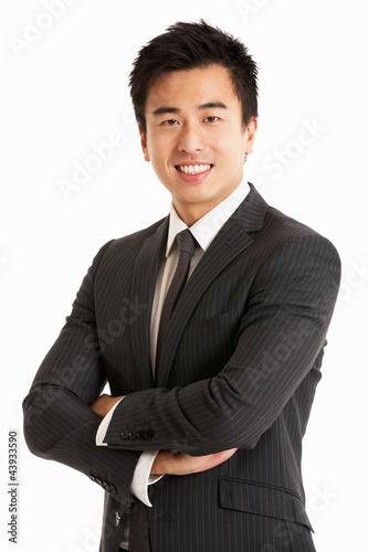 Fotografía  Studio Portrait Of Chinese Businessman