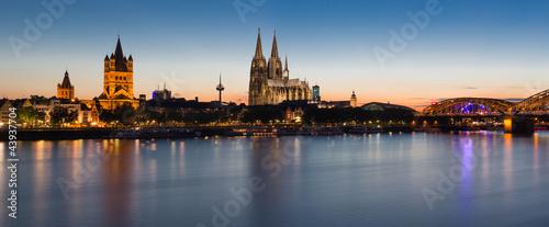 Fotografía  Cologne Skyline