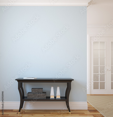 Hallway. Canvas-taulu