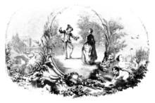 Ornament : Spring Pleasures - 18th Century