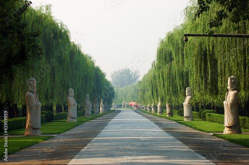 Foto auf Gartenposter Beijing Ming Tomb