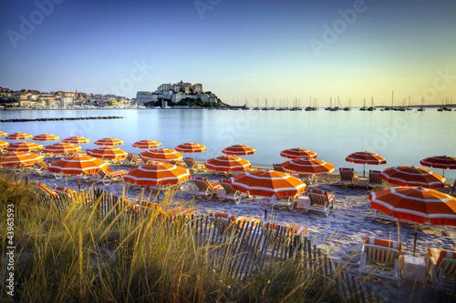 Foto-Leinwand - Calvi - Haute-Corse