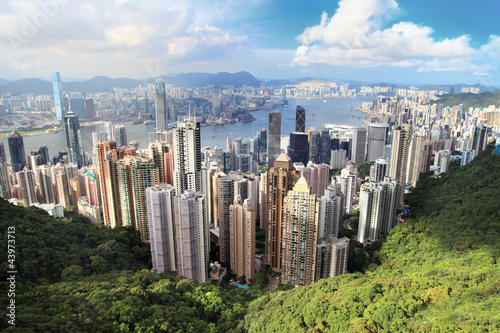 Papiers peints Hong-Kong Victoria Peak